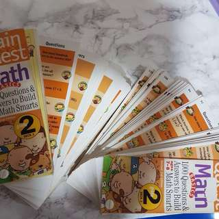 2 Sets of Math Brain Quest