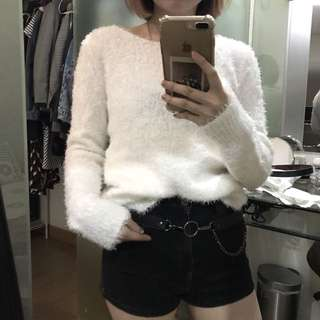 Fur sweater