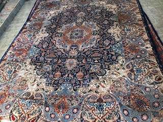 Persian high quality Kashmar handmade rug 10x13ft