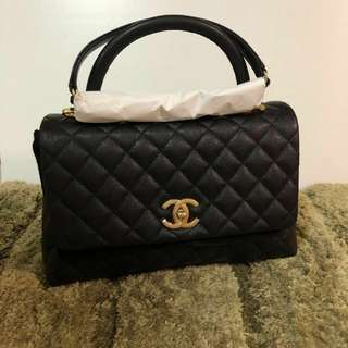 全新Chanel coco handle bag(中Full Set)