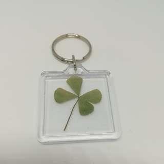 Mini clover keychain