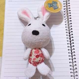 小兔子吊飾