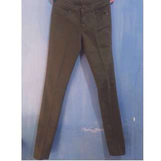 H&m Jeans Color: Green army