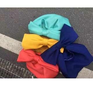 Ribbon handbag from Korea