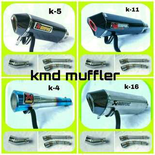 mufler , cbr, r15 and other