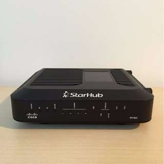 Starhub Cable Modem With Voice Enabled