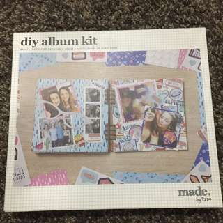 TYPO diy album kit