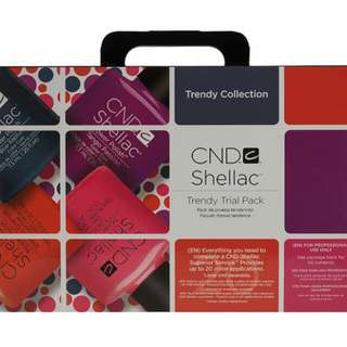 CND Shellac Gel Polish Trial Pack