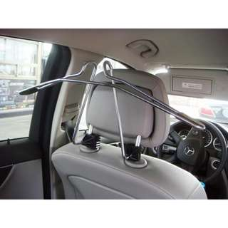 Mercedes-Benz Coat Hanger For Headrest Chrome