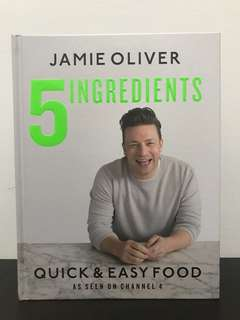 Jamie Oliver 5 Ingredients Quick and Easy Food