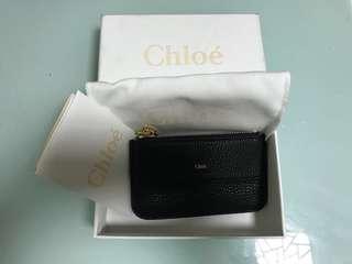 全新 Chloe Drew Leather Cardholder