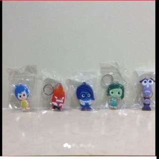 Inside Out Characters Key-chains (Brand New & Sealed)