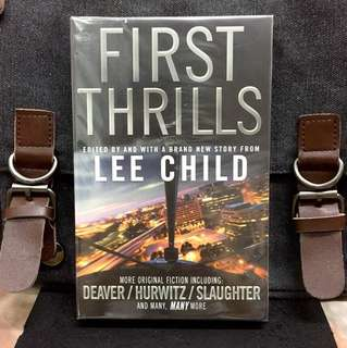 # Novel《Bran-New + Collection Of 12 Literary Legends & 13 Rising Stars Thriller Fictions》Lee Child - FIRST THRILLS