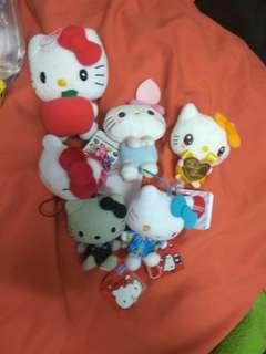 Sanrio kitty 公仔