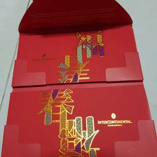 Intercontinental Singapore Red Packet