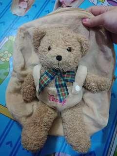 Tas anak TK teddy bear