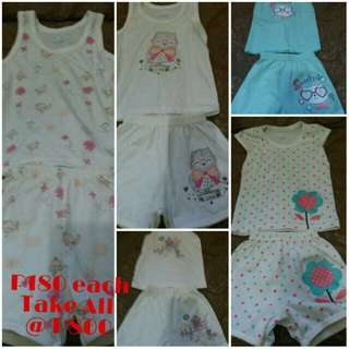 Take All Little Wishes Sando and Shorts Ternos 3-6mos