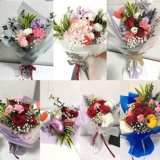 Flower Bouquet flower box