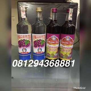 Promo!!! Anggur Merah Putih 620 ml