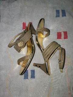 Gold Sandals - Formal