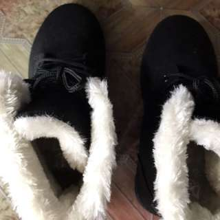 Ready stock winter shoes