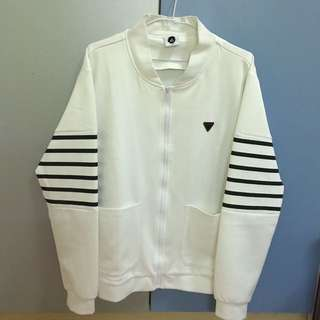 🚚 Target 白色太空棉外套