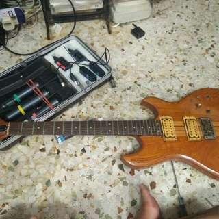 Shiro 23 yrs old guitar electric pre  Aria era