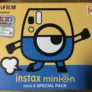 instax mini8 小小兵拍立得
