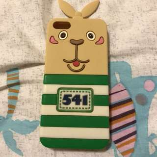 🚚 iphone5 手機殼/監獄兔