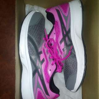 ASICS rubber/ running shoes