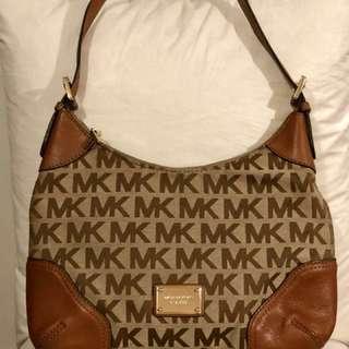 100% Authentic - Michael Kors Monogram Shoulder Bag