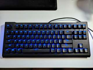 Max Keyboard Blackbird Tenkeyless (TKL) Backlit Mechanical Keyboard (Cherry MX Red)