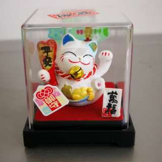 BNIB 金石工坊 平安守护猫 fortune cat