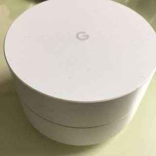 Google WiFi router 谷歌路由器 三個 99%new