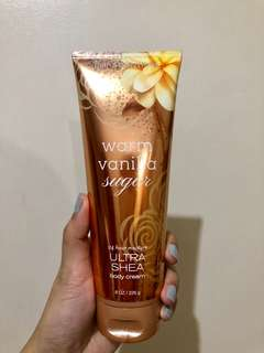 Warm Vanilla Sugar Lotion