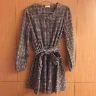 冬日溫暖洋裝