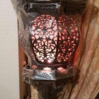 Chinese lantern standing lamp