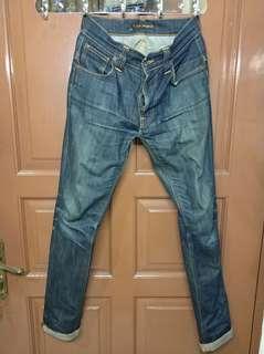 Nudie jeans ecru embo original 27/32