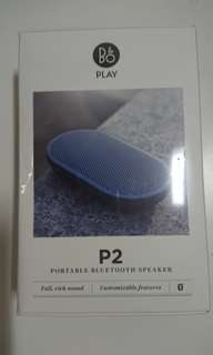 B&O beoplay P2 portable bluetooth speaker Bang & Olufsen