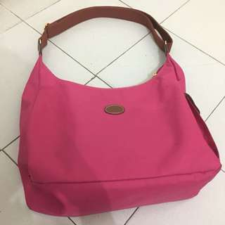 Longchamp Authentic Nylon Sling/Shoulder Bag