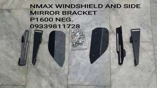Nmax Windshield bracket