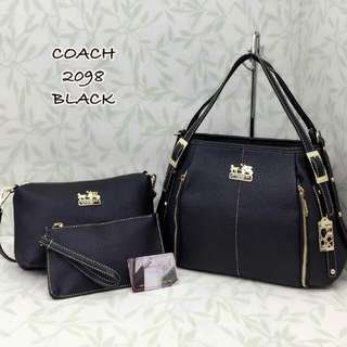 Coach Handbag 3 in 1