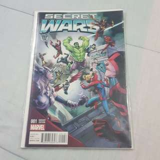 Legit Brand New Sealed Marvel 001 Variant Secret Wars Comics Magazine SuperHeroStuff Exclusive