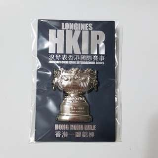 Longines HKIR Hong Kong Mile Pin 浪琴表香港國際賽事香港一哩錦標襟章
