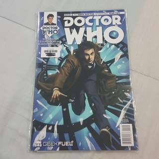 Legit Brand New Sealed BBC Doctor Who The Tenth Doctor Year Two Comics Magazine Geek Fuel Exclusive