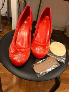 結婚 掛鞋39碼