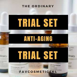 The Ordinary FavTrial Anti-Aging Set