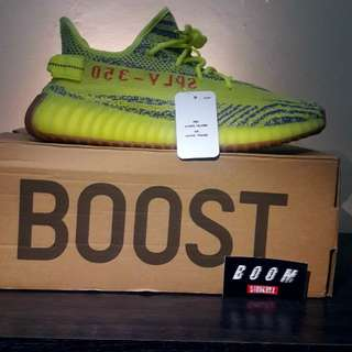 "Adidas Yeezy Boost 350 V2 ""Frozen Yellow"" Unauthorized Authentic (UA)"