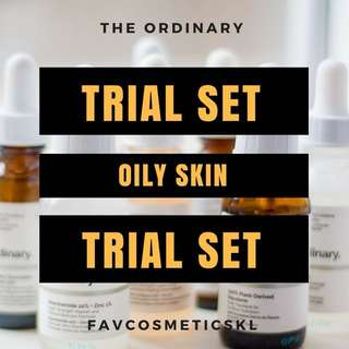 The Ordinary FavTrial Oily Skin Set
