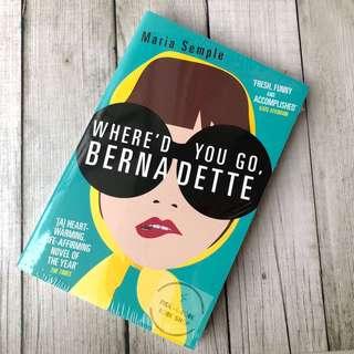 [Ready Stock] Where'd You Go, Bernadette - Maria Semple